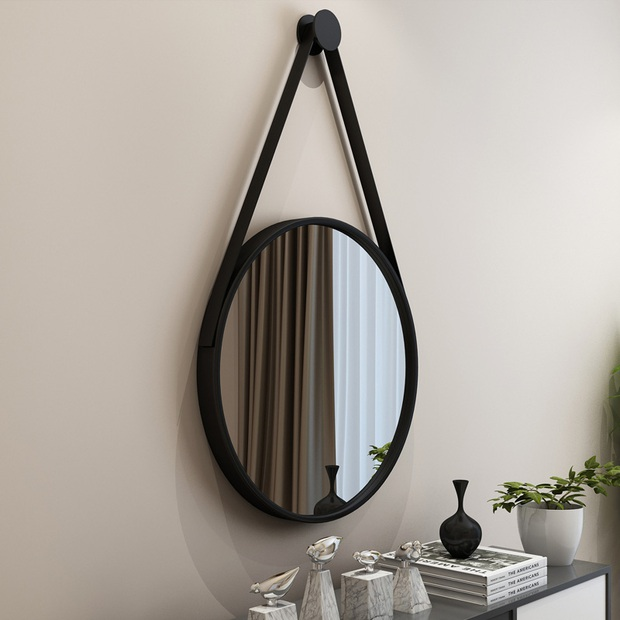 Gương tròn treo tường: Không chỉ lấp đầy khoảng trống mà còn khiến nhà xinh đẹp xịn chuẩn Hàn - Ảnh 14.