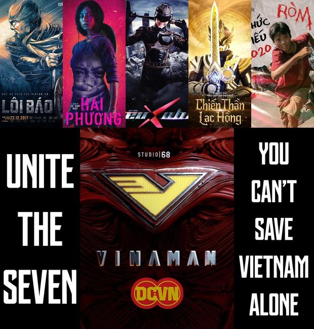 Netizen Việt hí hửng lập đội siêu anh hùng Việt: Ròm và Hai Phượng góp mặt, Vinaman mới nhú của Ngô Thanh Vân cũng có tên - Ảnh 2.