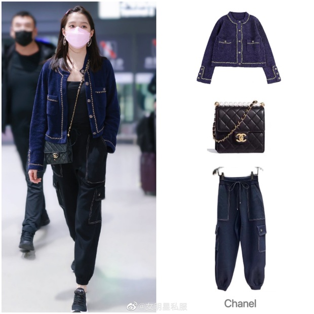 Đụng áo Jennie đã mặc từ 1 năm trước, Quan Hiểu Đồng lên đồ an toàn vẫn bị chê như mặc hàng chợ - Ảnh 7.