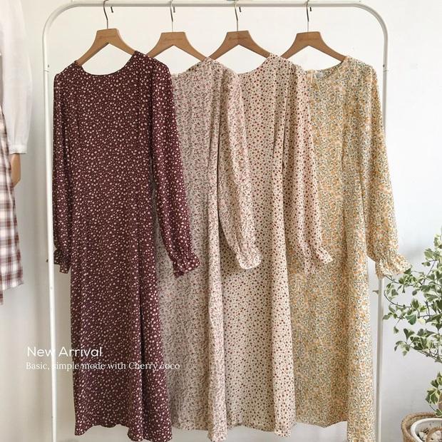 Để mặc đẹp không trượt phát nào thì nhất định phải sắm váy hoa nhí dài tay, diện dịp giao mùa là chuẩn bài - Ảnh 20.