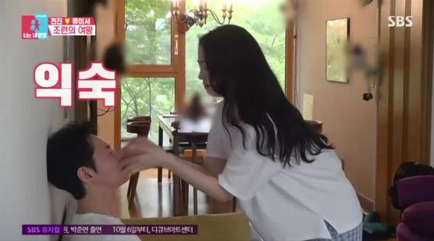Sau hôn lễ hot nhất xứ Hàn, nam thần Shinhwa lên truyền hình kể về vợ: Đẹp như minh tinh, không thể xa nàng quá 1km, 24 tiếng - Ảnh 7.