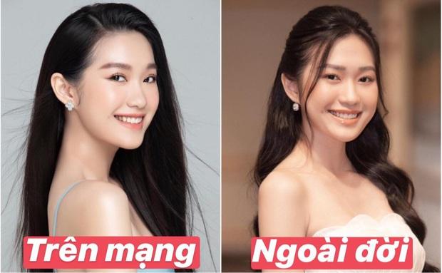 So nhan sắc trên mạng với ngoài đời của Doãn Hải My - gái đẹp hot nhất Hoa hậu Việt Nam - Ảnh 1.