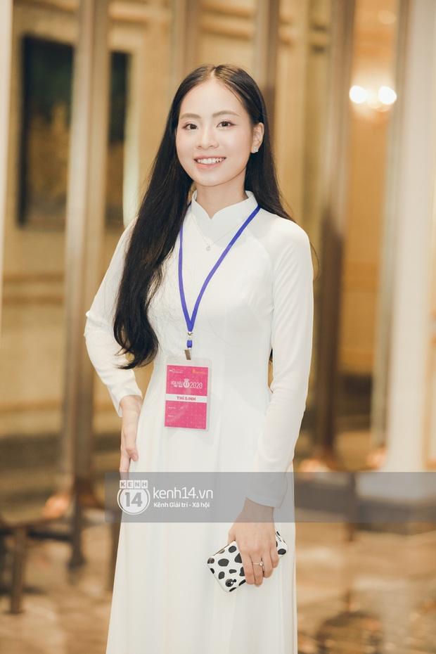 Dàn thí sinh đổ bộ sơ khảo miền Bắc Hoa hậu Việt Nam 2020: Bản sao Châu Bùi nổi bần bật, thí sinh diện váy bánh bèo gây chú ý - Ảnh 12.
