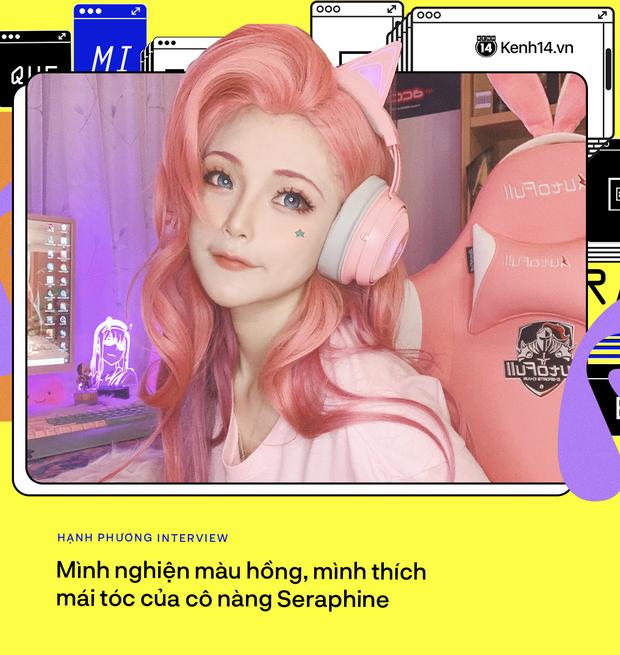 Phỏng vấn bóng hồng gây bão với màn cosplay Seraphine: Vui khi được chú ý, bỏ ngoài tai lời thị phi dèm pha - Ảnh 2.