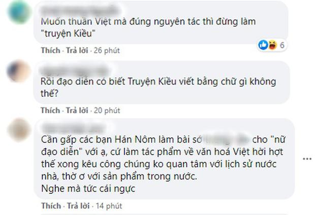 Đạo diễn KIỀU khiến cộng đồng sôi máu với phản hồi vụ lùm xùm teaser: Chữ Hán và Nôm giống nhau, lại còn là phim thuần Việt? - Ảnh 5.