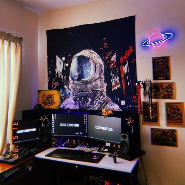 Đèn LED decor phòng ngủ ảo diệu, mua dễ mà làm còn dễ hơn - Ảnh 5.