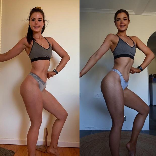Cô gái người Úc khoe body hậu giảm cân đầy ngoạn mục trên TikTok: giảm 25kg mà không cần từ bỏ đồ ăn vặt - Ảnh 9.