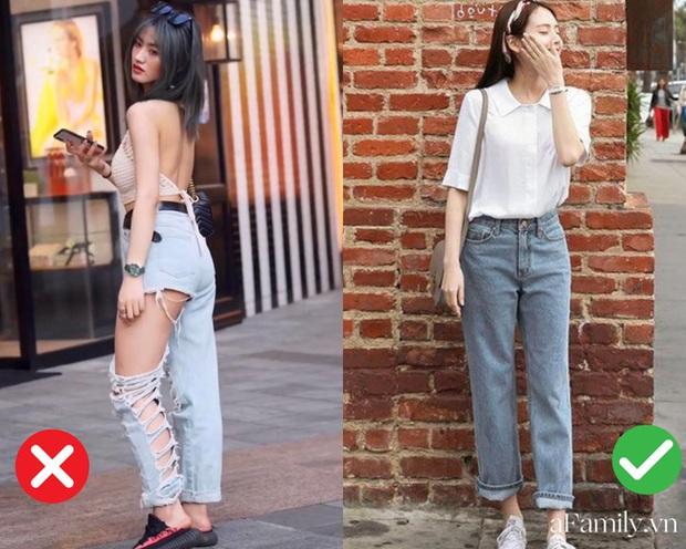 2 kiểu quần jeans bạn nên tránh xa vì dìm dáng và lôi thôi đến cực độ - Ảnh 1.