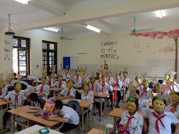 Trung thu của học sinh có gì: Trang trí lớp học lầy lội, sáng tạo lồng đèn chẳng giống ai, xem là không nhịn được cười - Ảnh 7.
