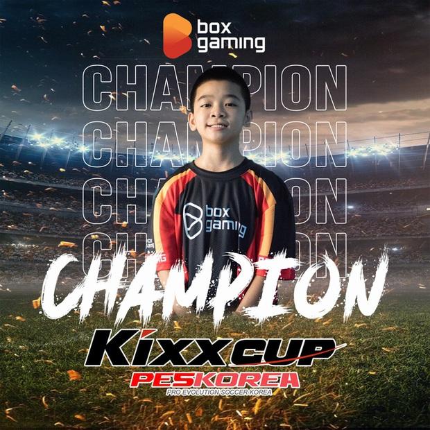 Thần đồng Lê Hà Anh Tuấn vô địch giải PES Hàn Quốc - Ảnh 1.