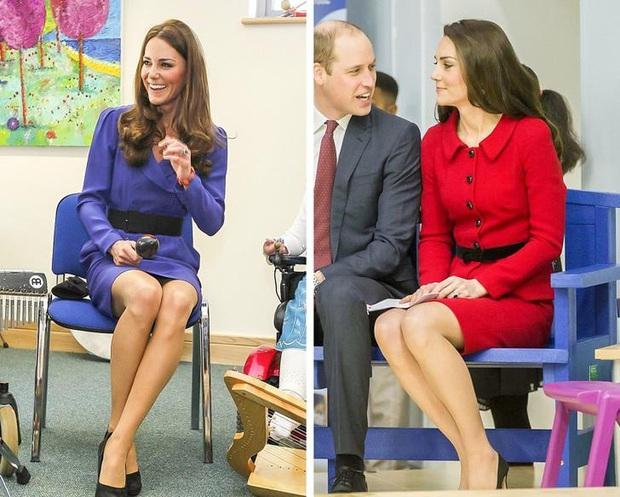 Cách ngồi khi diện váy ngắn: Bảo Thy, Hương Giang suýt hớ hênh, kỹ năng thượng thừa phải kể đến Công nương Diana - Ảnh 10.