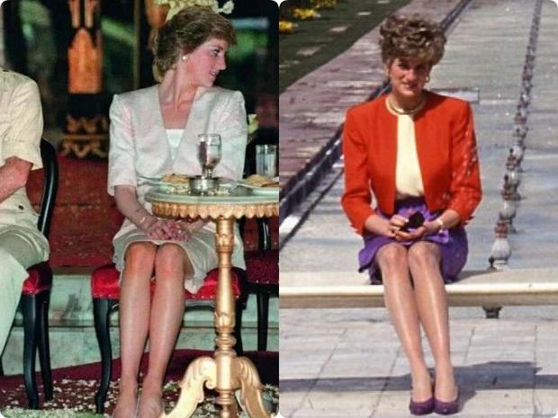 Cách ngồi khi diện váy ngắn: Bảo Thy, Hương Giang suýt hớ hênh, kỹ năng thượng thừa phải kể đến Công nương Diana - Ảnh 11.