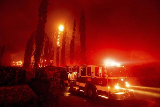 Cháy rừng tại California, 50.000 người phải sơ tán - Ảnh 5.