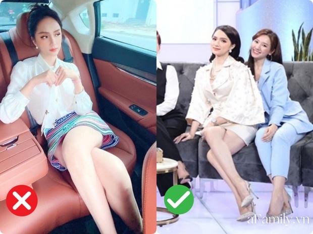 Cách ngồi khi diện váy ngắn: Bảo Thy, Hương Giang suýt hớ hênh, kỹ năng thượng thừa phải kể đến Công nương Diana - Ảnh 7.