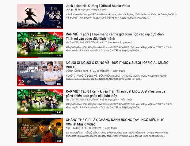 Hoài Lâm bất ngờ thăng hạng trên HOT14, Jack mòn mỏi chờ Đức Phúc ở top trending nhưng vẫn bị cản đường bởi Rap Việt - Ảnh 2.
