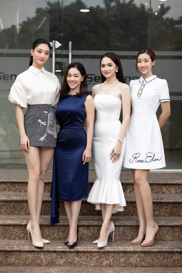 """3 nàng hậu đình đám Vbiz đọ sắc, Lương Thuỳ Linh tự nhận luôn """"người khổng lồ"""" vì... đôi chân 1m22! - Ảnh 2."""