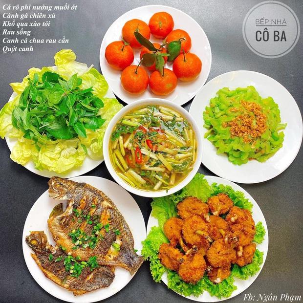 Loạt mâm cơm cho 6 người ăn đẹp nức nở của cô vợ trẻ khiến hội yêu bếp thả tim ầm ầm - Ảnh 2.