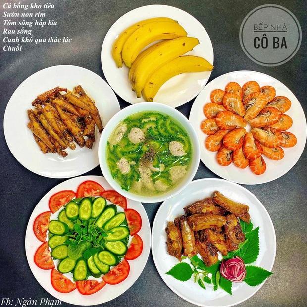 Loạt mâm cơm cho 6 người ăn đẹp nức nở của cô vợ trẻ khiến hội yêu bếp thả tim ầm ầm - Ảnh 3.