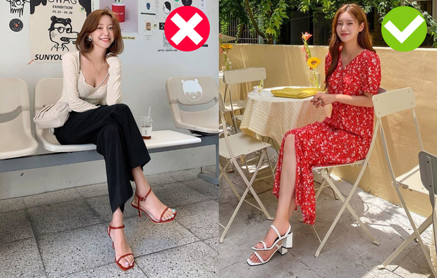 Có 4 cách chọn giày để bạn trông cao ráo, bắp chân to hóa thon gọn: Hay nhất là chiêu chọn tất chẳng ai ngờ đến  - Ảnh 2.