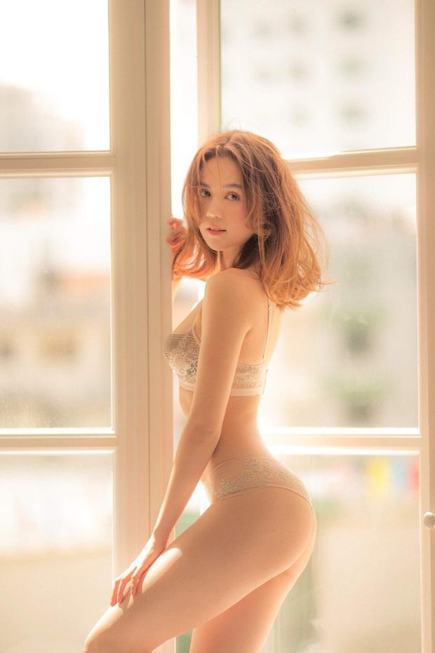 Trời mùa hè chưa nóng bằng ảnh nude 100% hừng hực của Ngọc Trinh hôm nay: Táo bạo thế này ai đọ lại chị? - Ảnh 6.
