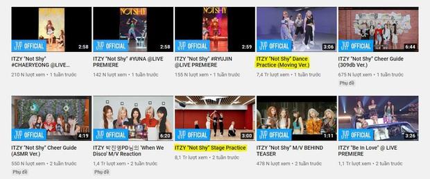 ITZY có đến 7749 phiên bản video dance khác nhau trong khi đàn chị TWICE chỉ có một, JYP ngày càng lộ sự thiên vị? - Ảnh 3.