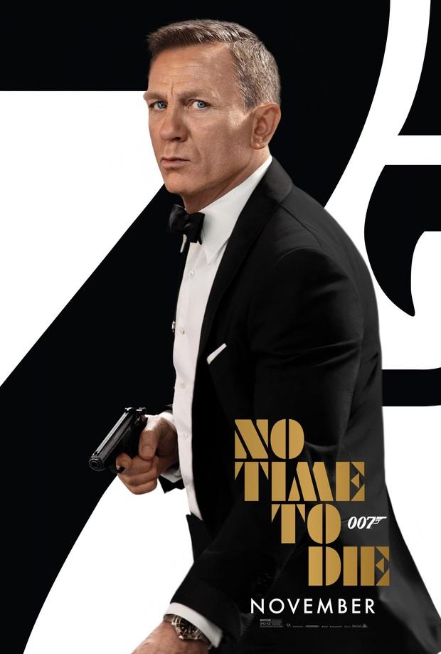 No Time to Die tung trailer khét lẹt: Anh Bond thiện xạ chưa ngầu bằng bóng hồng Cuba đá lủng phổi kẻ thù - Ảnh 12.