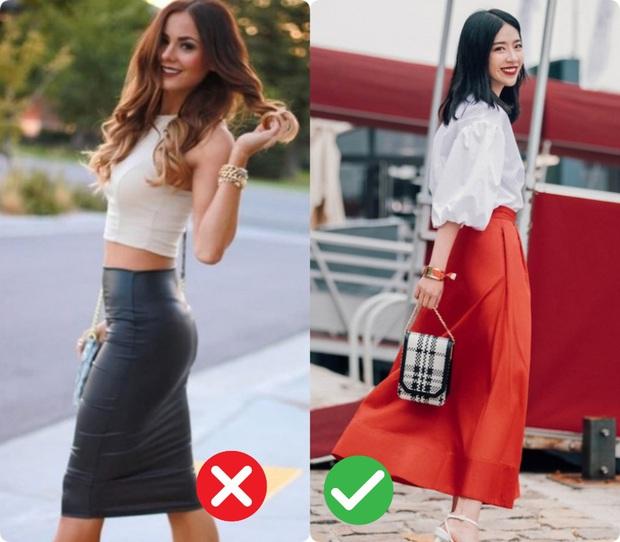 Chân váy dành cho vòng 3 xẹp lép: Vài chú ý nhỏ giúp bạn chọn được đúng kiểu lừa tình - Ảnh 2.