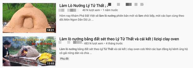 Xuất hiện thêm một kênh YouTube đạo nhái Lý Tử Thất, chính chủ khẳng định luôn: Mình hâm mộ nên bắt chước làm theo - Ảnh 3.