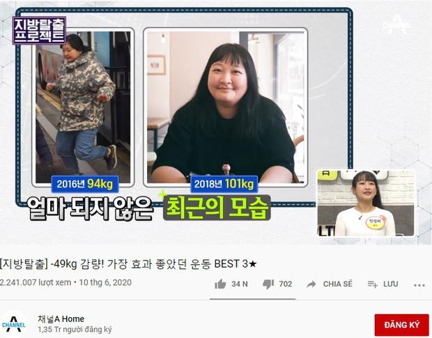 Gái xinh Hàn Quốc chia sẻ 3 bài tập mỗi ngày giúp cô nàng giảm được 49kg trong 1 năm - Ảnh 1.