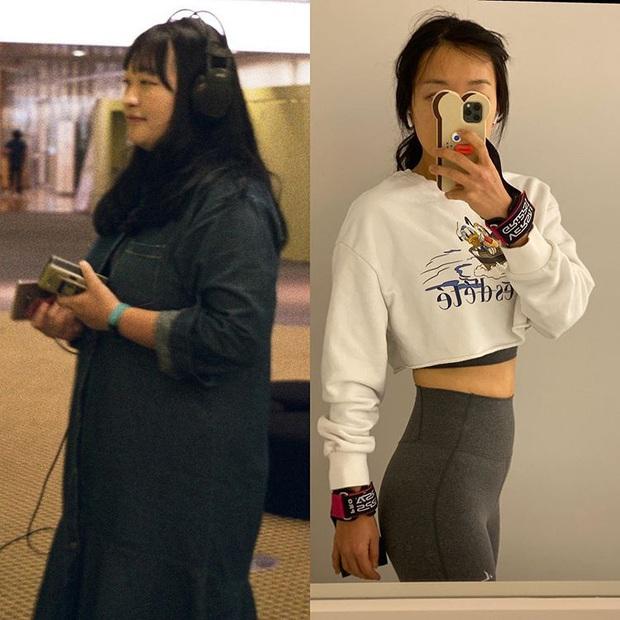 Gái xinh Hàn Quốc chia sẻ 3 bài tập mỗi ngày giúp cô nàng giảm được 49kg trong 1 năm - Ảnh 3.