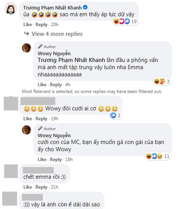 Wowy cực kết Emma Nhất Khanh chỉ sau 1 chương trình, Karik liền vào ship nhiệt tình - Ảnh 3.