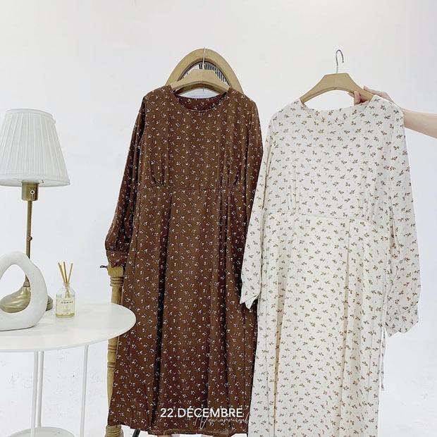 Để mặc đẹp không trượt phát nào thì nhất định phải sắm váy hoa nhí dài tay, diện dịp giao mùa là chuẩn bài - Ảnh 14.
