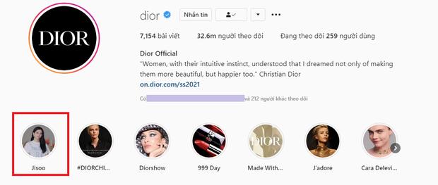 Xịn nhất BLACKPINK: Jisoo được đối xử đặc biệt trên Instagram của Dior theo cách chưa thành viên nào có được - Ảnh 4.