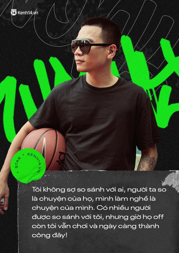 Wowy kể chuyện cưới hụt bạn gái, ẩu đả với Rhymastic và cột mốc Rap Việt: Tôi cảm giác như đang đánh lại cái bóng của chính mình - Ảnh 7.