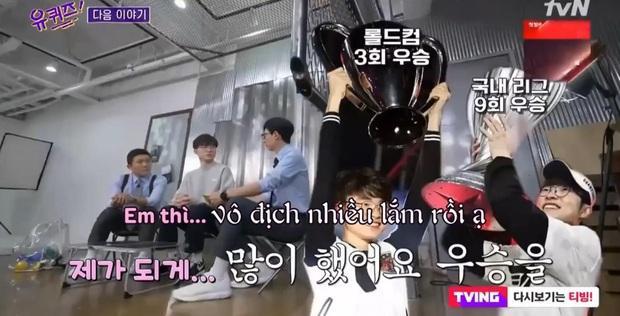 Không thể tới CKTG 2020, Quỷ vương Faker bất ngờ tham gia show cùng MC Quốc dân Yoo Jae Suk - Ảnh 3.