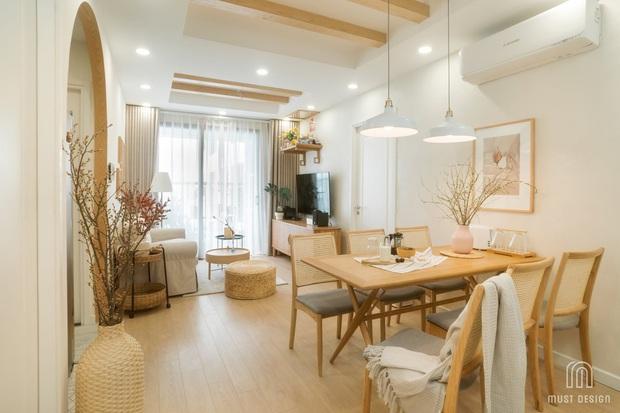 Căn chung cư 86m2 cho 4 người ở Hà Nội: 10 người tới thăm thì tới 11 người khen xinh quá, chỉ muốn ở lại luôn! - Ảnh 1.