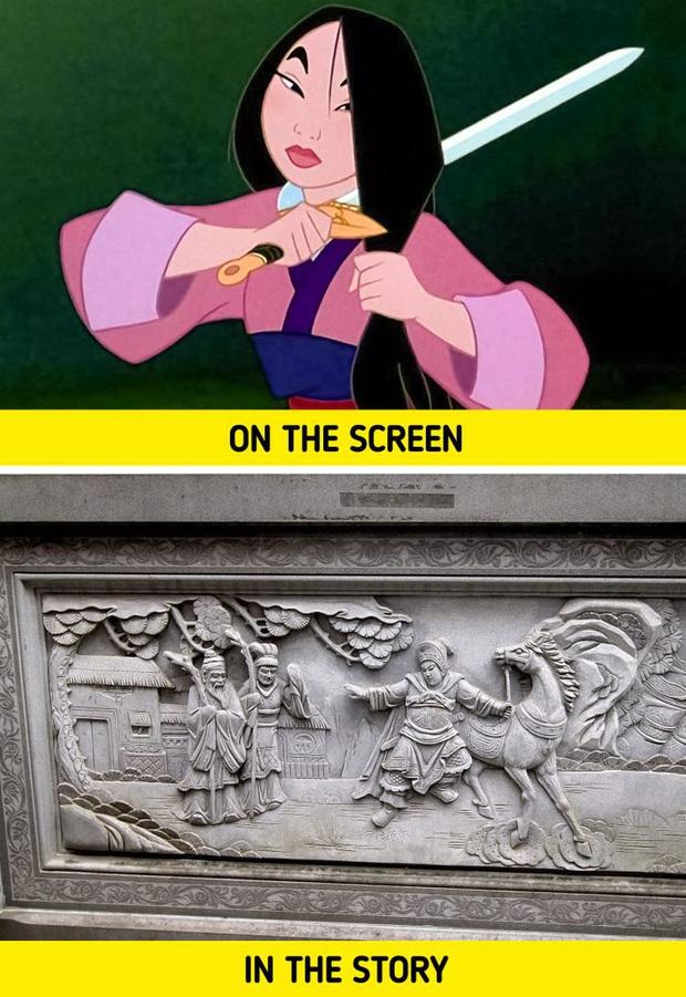 Quên Mộc Lan mặt đơ trên phim, giai thoại gốc về Mulan là một câu chuyện cực thú vị và có thể khiến bạn nổi da gà - Ảnh 3.