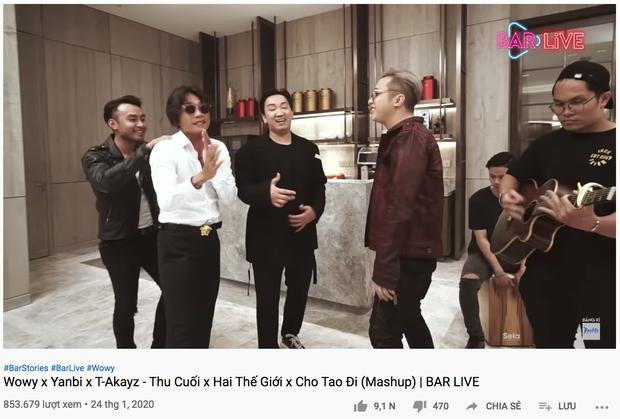 Rap Việt ngày càng hot, kéo theo lượt view tăng vọt của Bar Stories Wowy, Suboi - Ảnh 4.