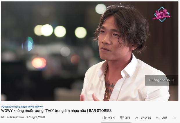 Rap Việt ngày càng hot, kéo theo lượt view tăng vọt của Bar Stories Wowy, Suboi - Ảnh 2.