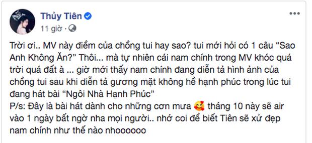 Thuỷ Tiên tung poster MV comeback, khẳng định clip lộ gương mặt không cảm xúc chính là điềm của ông xã Công Vinh? - Ảnh 1.