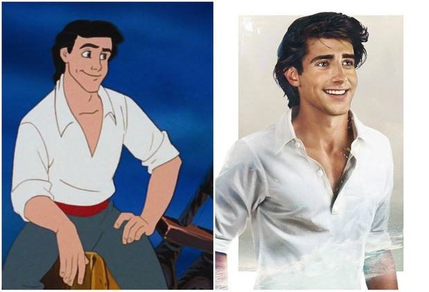 Bất ngờ với phiên bản đời thực của các nam chính trong phim hoạt hình Disney, toàn siêu cấp đẹp trai đốn tim chị em - Ảnh 1.