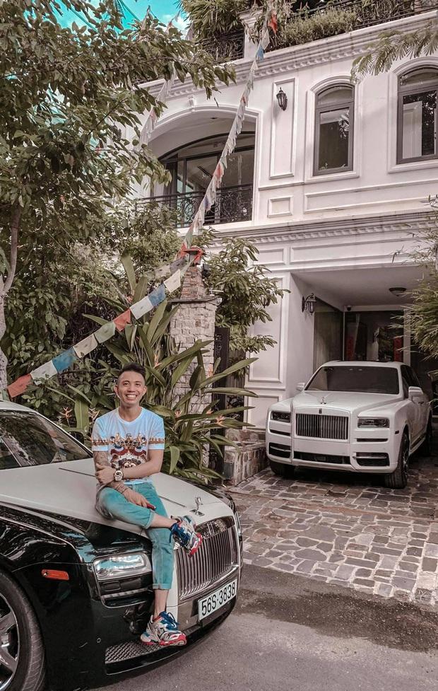 Đại gia Minh Nhựa than nhà nhỏ không có chỗ để Rolls Royce mấy chục tỷ, giới siêu giàu cũng khổ nhỉ! - Ảnh 1.
