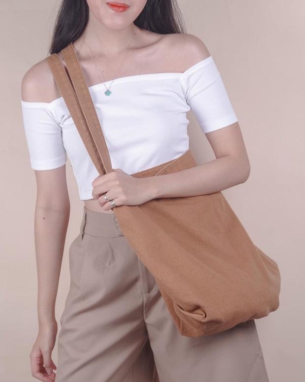 Chán diện balo đi học thì bạn hãy đổi sang túi tote vải: Giá rẻ, nhẹ tênh, diện lên là có style chuẩn Hàn Xẻng - Ảnh 25.