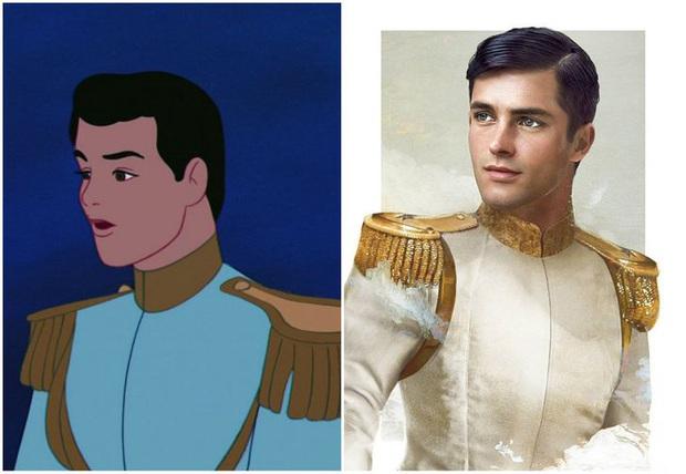 Bất ngờ với phiên bản đời thực của các nam chính trong phim hoạt hình Disney, toàn siêu cấp đẹp trai đốn tim chị em - Ảnh 3.