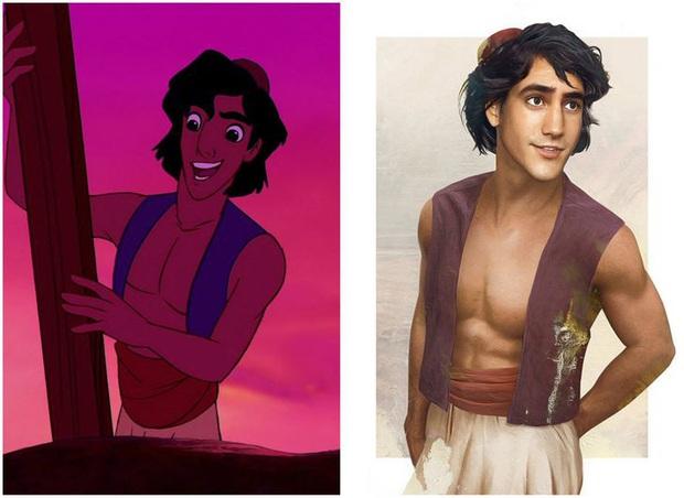 Bất ngờ với phiên bản đời thực của các nam chính trong phim hoạt hình Disney, toàn siêu cấp đẹp trai đốn tim chị em - Ảnh 5.