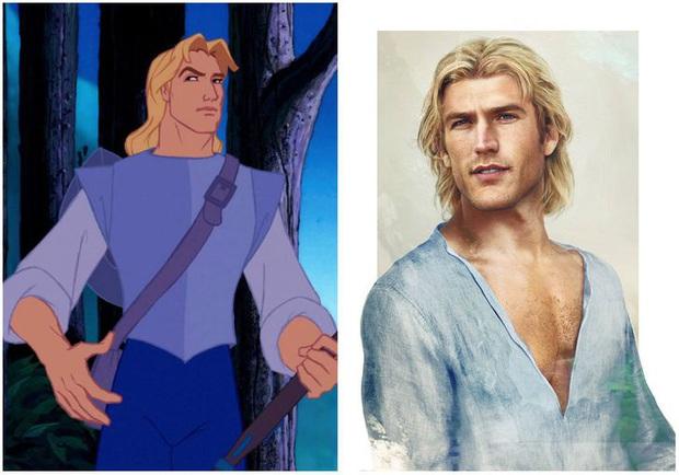 Bất ngờ với phiên bản đời thực của các nam chính trong phim hoạt hình Disney, toàn siêu cấp đẹp trai đốn tim chị em - Ảnh 4.