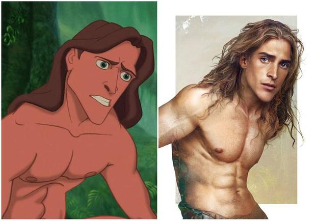 Bất ngờ với phiên bản đời thực của các nam chính trong phim hoạt hình Disney, toàn siêu cấp đẹp trai đốn tim chị em - Ảnh 7.