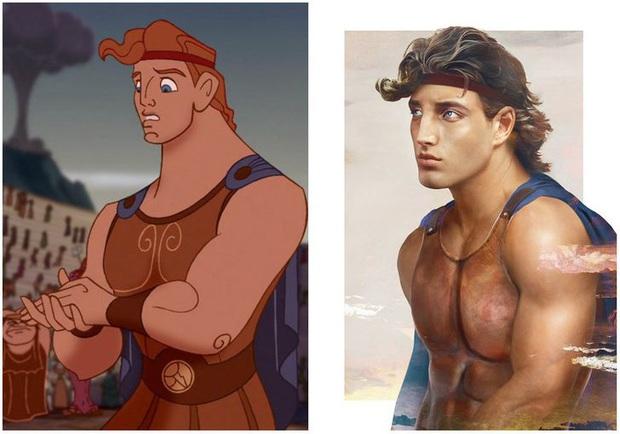 Bất ngờ với phiên bản đời thực của các nam chính trong phim hoạt hình Disney, toàn siêu cấp đẹp trai đốn tim chị em - Ảnh 6.