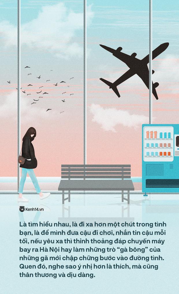 Viết cho những mối tình Sài Gòn - Hà Nội: Yêu nhau, yêu cả dáng hình ngôn ngữ - Ảnh 1.