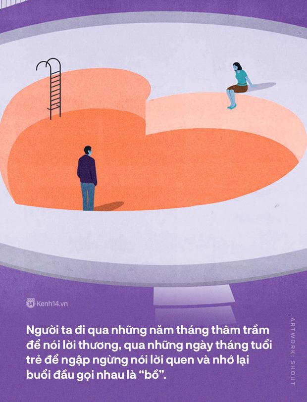 Viết cho những mối tình Sài Gòn - Hà Nội: Yêu nhau, yêu cả dáng hình ngôn ngữ - Ảnh 3.